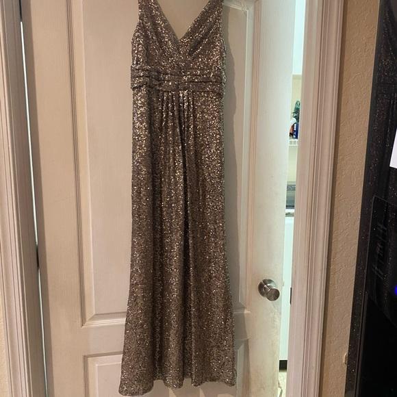 SORELLA VITA Dresses & Skirts - Pewter junior bridesmaid dress